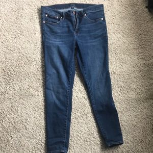 J crew size 31 skinny jeans